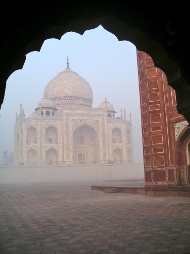 View of the Taj from the guest house