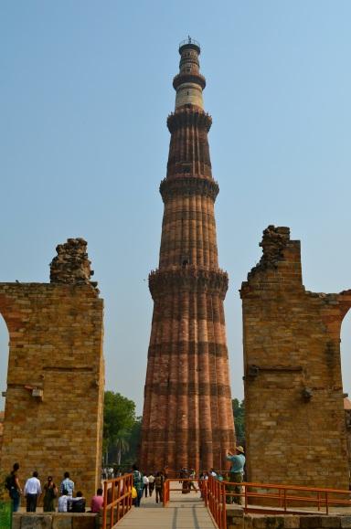 Qut'b Minaret, qutub minar qut'b minar, soundscape, delhi, ruins, sandstone, muslim, qu'ran, sultan, iman zamin, moghuls, India