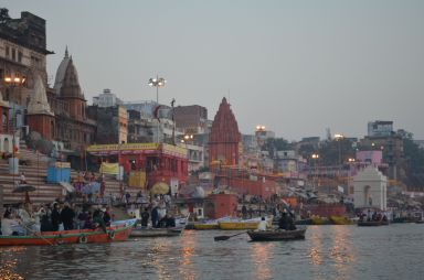 Varanasi - Ghats along the Ganges