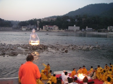 rishikesh, beatles, soundscape, ganges, the ganga, shiva, aarti ceremony, tabla,