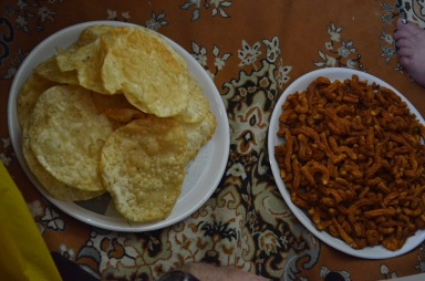 Diwali food prepared by Draksha