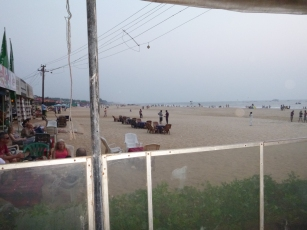View of Baga Beach