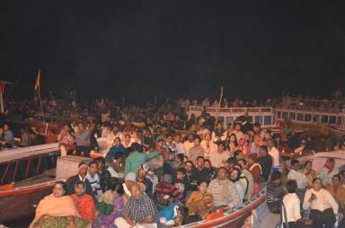Varanasi - boats